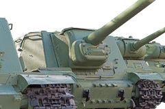 Old soviet tanks Stock Images