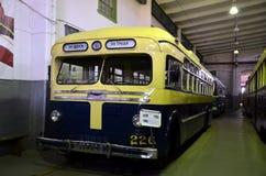 Old soviet trolleybus Royalty Free Stock Image