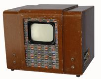 Old Soviet TV  Royalty Free Stock Photo