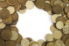 Old Soviet Union expired money background Royalty Free Stock Photography
