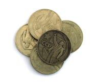 Old Soviet Union Expired Money Isolated Royalty Free Stock Image