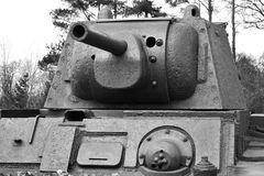 Old Soviet Union tank Stock Images