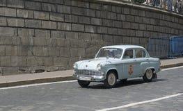 Old Soviet vehicle Moskvitch 403 Stock Photo