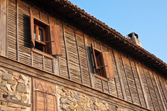 Old Sozopol House. Second floor of an old house in Sozopol, Bulgaria Stock Image