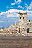 Old spanish castle in Havana Royalty Free Stock Photo