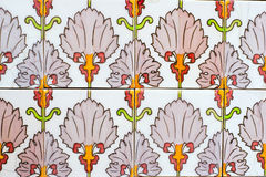 Old spanish ceramic tiles Royalty Free Stock Images