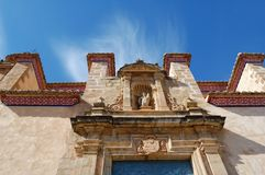 Old spanish church royalty free stock photo