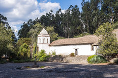 Old Spanish colonial manor house Royalty Free Stock Image