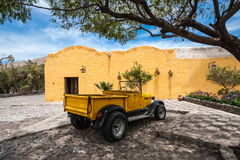 Old Spanish Colonial mansion, Arequipa, Peru Royalty Free Stock Photography