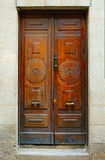 Old spanish door Royalty Free Stock Image