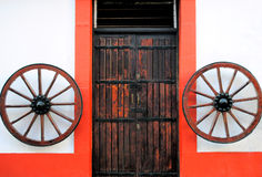 Old spanish door Royalty Free Stock Photography