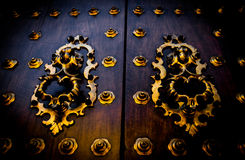 Old Spanish Door Stock Photos