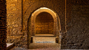 Old spanish dungeon Royalty Free Stock Photo