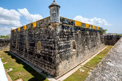 Old Spanish fort in Mexico Royalty Free Stock Image