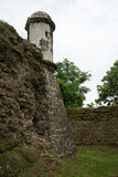Old Spanish fort in Panama stock images