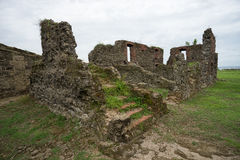 Old Spanish fort ruins in Panama royalty free stock photography