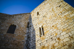 Old Spanish fortress castle made of stone Royalty Free Stock Photography