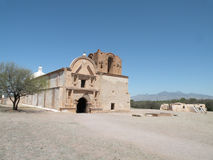 Old Spanish Mission. Ruins of old spanish mission in Tumacacori National Historical Park in Arizona Stock Photography