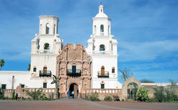 Old Spanish Mission Royalty Free Stock Photo