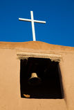 Old Spanish Mission, Santa Fe, New Mexico Royalty Free Stock Images