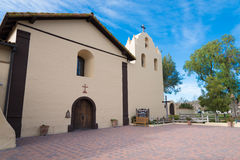 Old Spanish mission in Solvang California Stock Photo