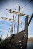 Old Spanish Sailing Ship Royalty Free Stock Images