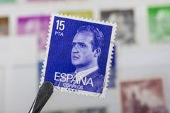 Old spanish stamp Stock Photo