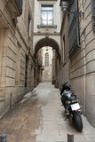 Old spanish street Stock Images