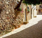 Old Spanish street Royalty Free Stock Image