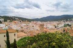 Old Spanish town Stock Images