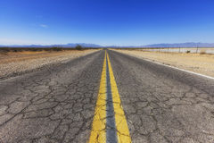Old Spanish Trail Highway, Nevada, USA Stock Image