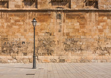 Old spanish wall Royalty Free Stock Photography