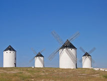 Old Spanish Wind Mill. Castilla la Mancha Stock Photography