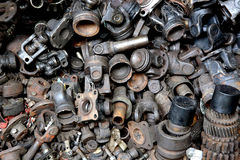 Old spare parts Royalty Free Stock Images