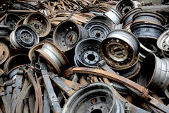 Old spare parts Stock Photos