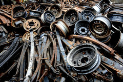 Old spare parts Stock Image