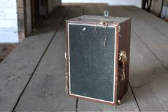 Old speaker Royalty Free Stock Photography