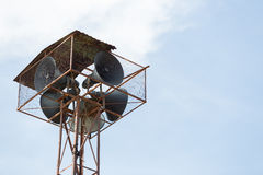 Old Speaker Tower Royalty Free Stock Photo