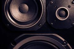 Old speakers Royalty Free Stock Image
