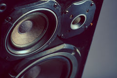 Old speakers Royalty Free Stock Photo