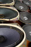 Old speakers Royalty Free Stock Photography