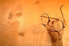 Old Spectacles Royalty Free Stock Photography