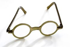 Old spectacles Stock Image