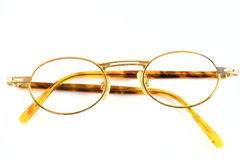 Old spectacles. Isolated on white background Stock Photo