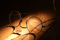 Old Spectacles Stock Photography