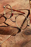 Old Spectacles Royalty Free Stock Photos