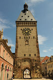 Old Speyer City Gate. The medieval city gate of Speyer in Southern Germany royalty free stock images