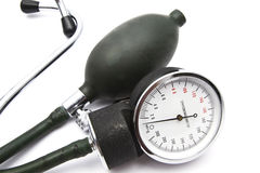 Old Sphygmomanometer Royalty Free Stock Photos