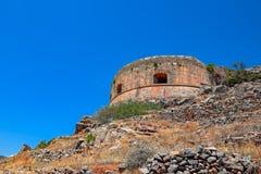 Old Spinalonga Island Fortress, Crete Royalty Free Stock Image