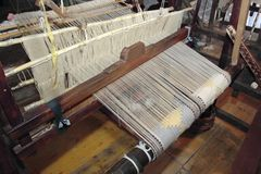 Old spinning jenny. From Sperlinga, Sicily Stock Photography
